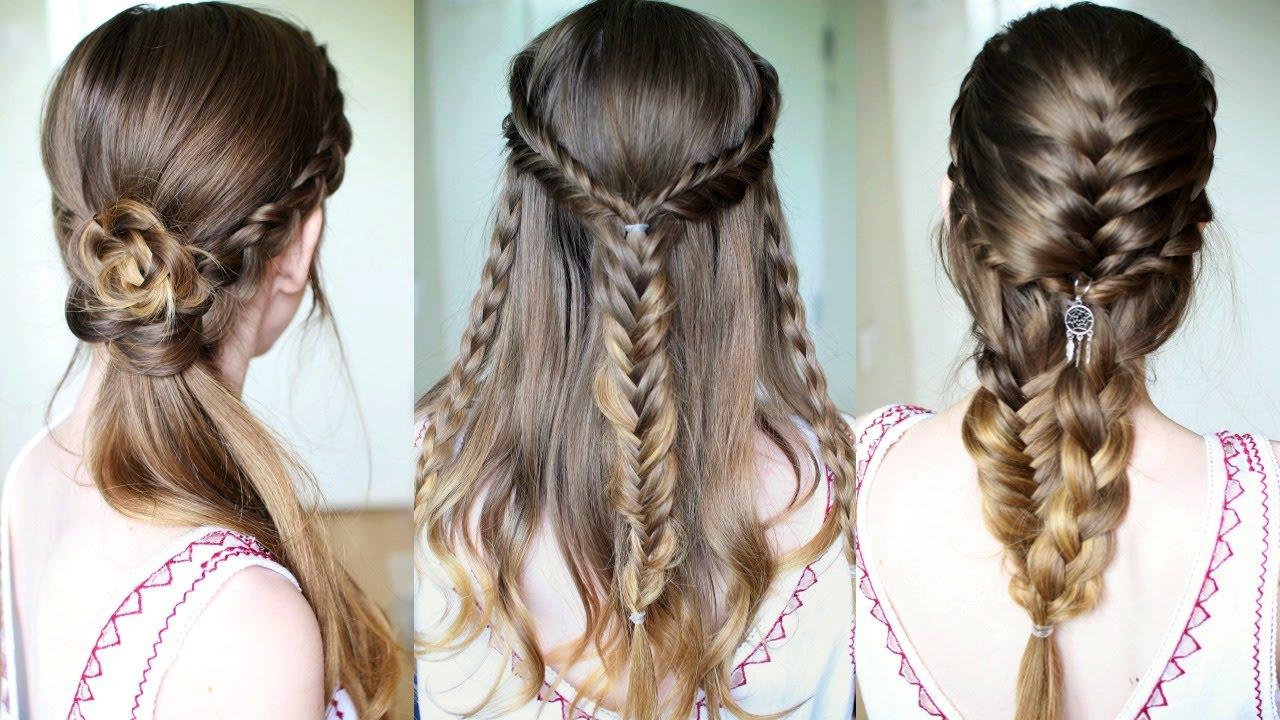 3 Braided Hairstyle Ideas| Braided Hairstyles | Braidsandstyles12 ...