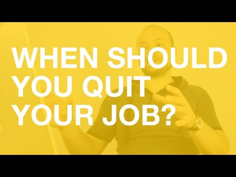 When should you quit your job? (and go fully freelance)