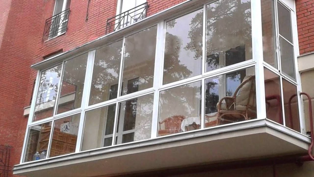 """Остекление балконов в краснодаре недорого """"окна маркт""""."""