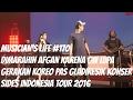 MUSICIAN S LIFE  170   Dimarahin Afgan karena lupa gerakan koreo pas GladiResik konser SIDES 2016