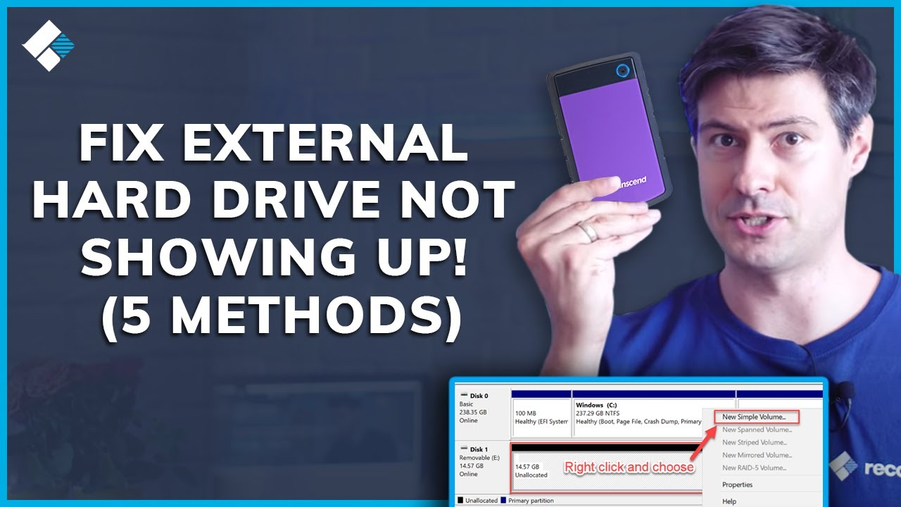 Sloved] Why WD External Hard Drive Not Recognized