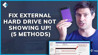 How to Fix External Hard Drive Not Showing Up