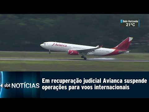 Avianca suspende voos