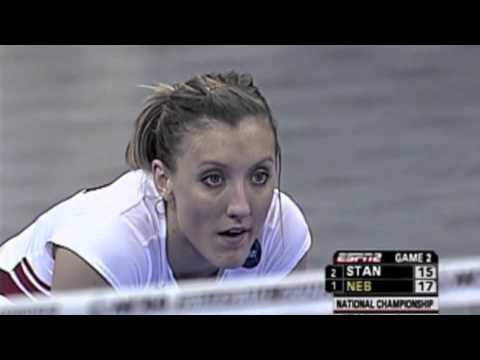 Nebraska vs Stanford 2006 NCAA finals [Set 2]