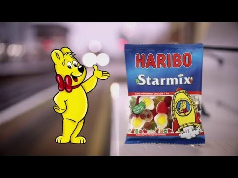 HARIBO Starmix Advert 2016 - Platform