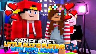 Minecraft Adventure - LITTLE ALLY IS FLIRTING WITH ROPO AGAIN!!!
