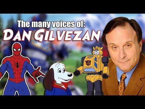 Many Voices of Dan Gilvezan (Transformers / Spider-Man / Pound Puppies / AND MORE!)