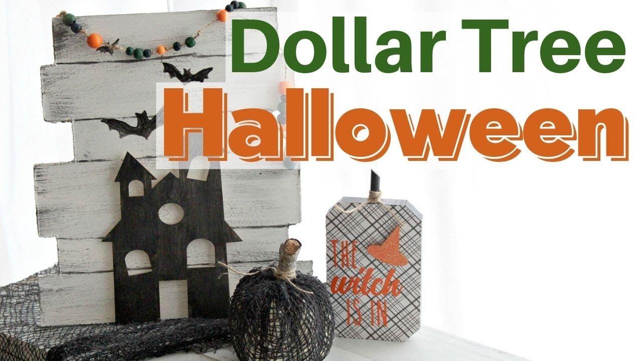 Halloween Dollar Store Crafts 2019