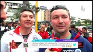 LNEM: El Loco Wagner vaciló de lo lindo a los hinchas chilenos
