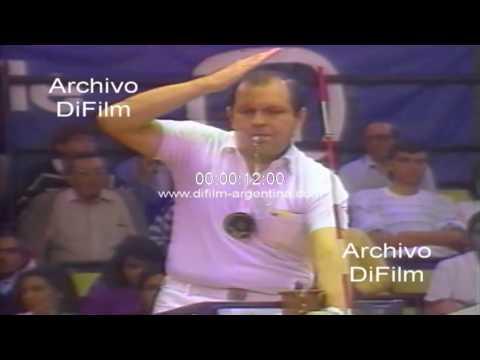 Sadia de Brasil supera a Power de Peru - Voley Femenino 1989