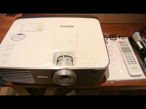 BenQ W1500 3D Projector Review, Menus, Image Quality, Installation and Issues