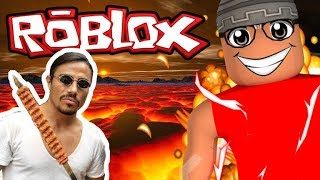 NUSRETİ ROBLOX'A ÇAĞIRDIK !!! Roblox The Floor is Lava / Roblox Türkçe / Ercan Öz