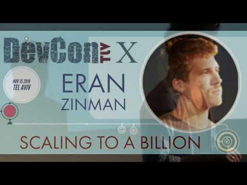 Scaling to a billion -Eran Zinman at DevconTLV X