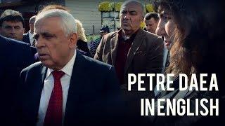 Petre Daea, in English