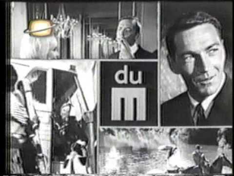 pub Qc- du Maurier -cigarette années 60