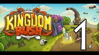Kingdom Rush: Steam Edition Let's Play-Part 1 (Starting the Campaign)