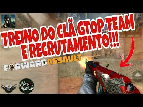 FWD, TREINO CLÃ GTOP TEAM... E RECRUTAMENTO!!!