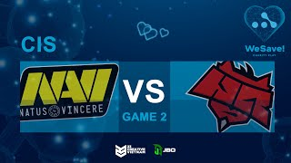 Natus Vincere vs Hellraisers - Game 2   WeSave! Charity Play   23 Creative VN