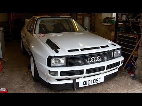 1991 Audi Quattro Coupe Rally Car Build Project