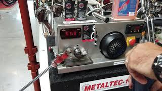 Jak funguje Metaltec? Falex machine test