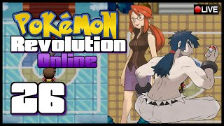 Pokémon Revolution Online w/ AppleCode Episode 26 | Elite Four Lorelei, Bruno, and Agatha Fail!