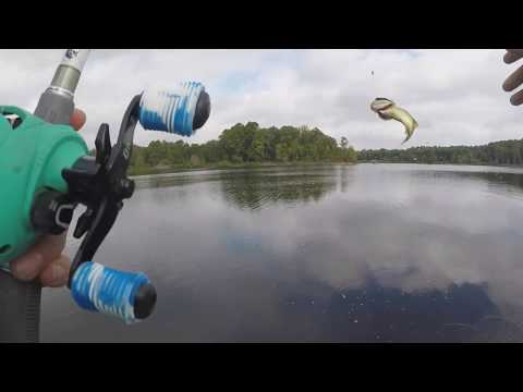 BASS FISHING LAKE O' THE PINES FALL TRANSITION