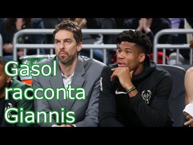 Gasol racconta Giannis