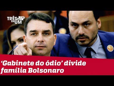 'Gabinete do ódio': grupo de assessores influencia e racha a família Bolsonaro