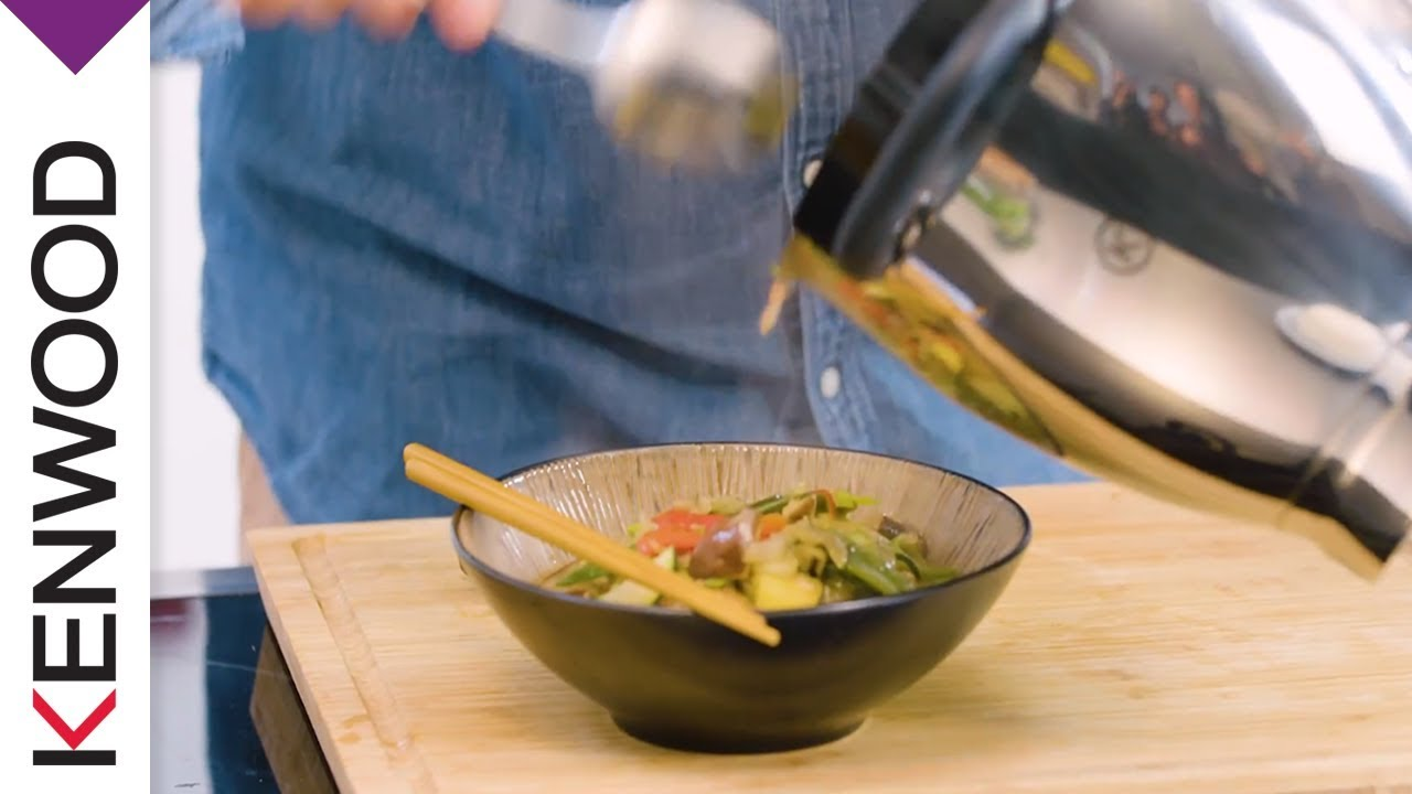 Rezeptvideo mit Christan Senff - Wok-Gerichte | Kenwood Cooking Chef ...