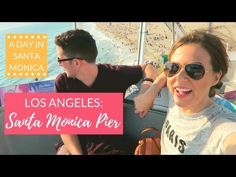 Visiting LA: What To Do in Santa Monica, California | Kathryn Tamblyn