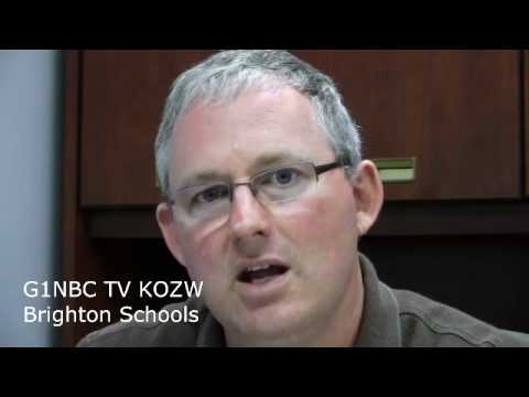 John Conely interview Brighton Schools Bond G1NBC TV KOZW Livingston County MI