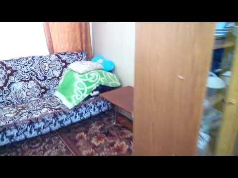 Комната в общежитии на берегу Волги