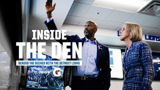 2021 Inside the Den Episode 3: Brad Holmes leads his first Detroit Lions draft