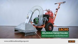 Zacho UKB 625 thermische Wildkrautbeseitigung