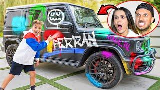 I DESTROYED MY PARENT'S NEW CAR! **EPIC REACTION** 😡