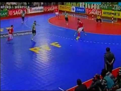 Futsal :: 16J :: Sporting - 2 x Benfica - 0 de 2009/2010