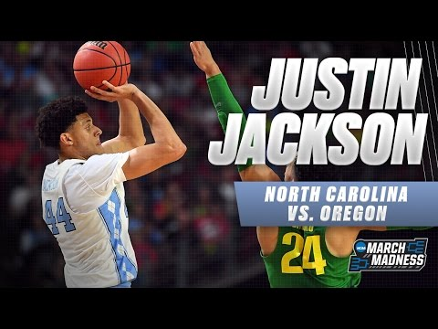North Carolina vs. Oregon: Justin Jackson scores 22 points