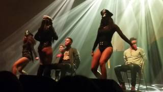 Ashanti - Lapdance & booty dance - Live in Paris Olympia - Fans & Axel Tony