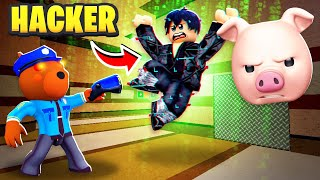 I CAUGHT A HACKER IN ROBLOX PIGGY BOOK 2..