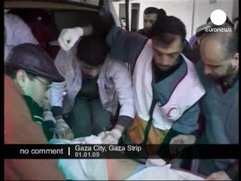 Israeli warplanes attacked the Hamas run television station in Gaza city