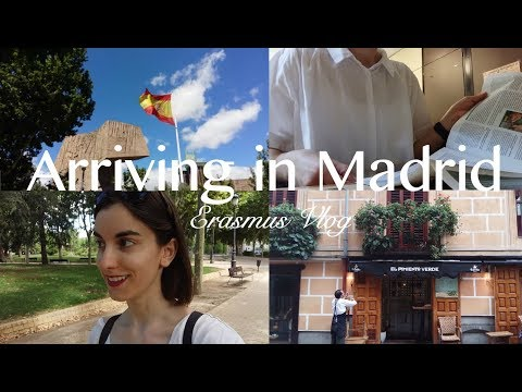 Arriving In Madrid | Erasmus Vlog 1