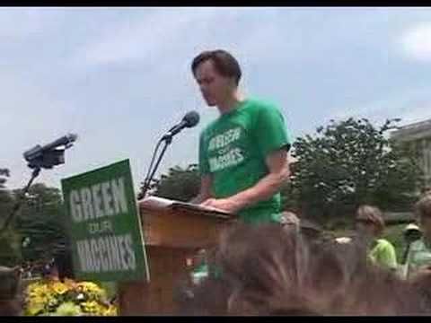 Green Our Vaccines Rally #4 of 6 - Jim Carrey