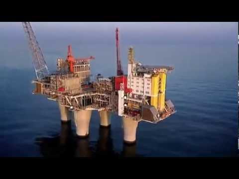 Super Rig  Troll A Gas Platform