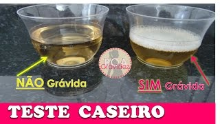TESTE CASEIRO GRAVIDEZ - com Água Sanitária funciona?| Boa Gravidez