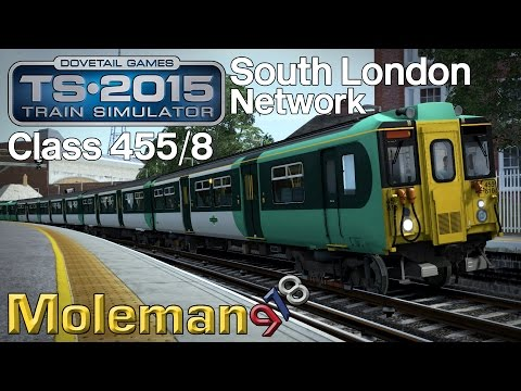 TS2015 | South London Network | Southern Class 455/8
