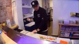 """Montreal Sayuri Sushi Boutique """"sushi Burrito"""""""
