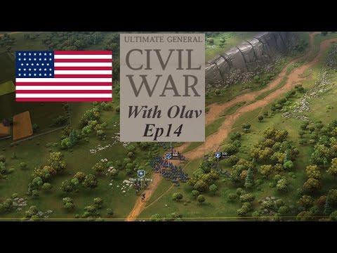 Ultimate General Civil War Union Campaign Ep14 Thoroughfare Gap