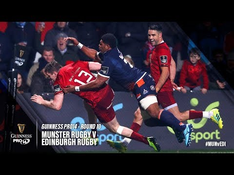 Guinness PRO14 Round 10 Highlights: Munster Rugby v Edinburgh Rugby