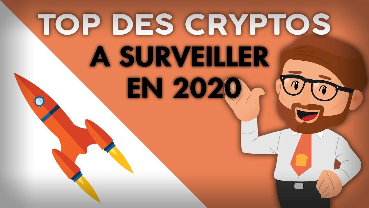 TOP 5 DES CRYPTOS A CONNAÎTRE EN 2020