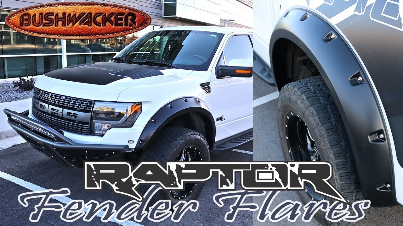 Ford SVT Raptor - Bushwacker Fender Flare Installation